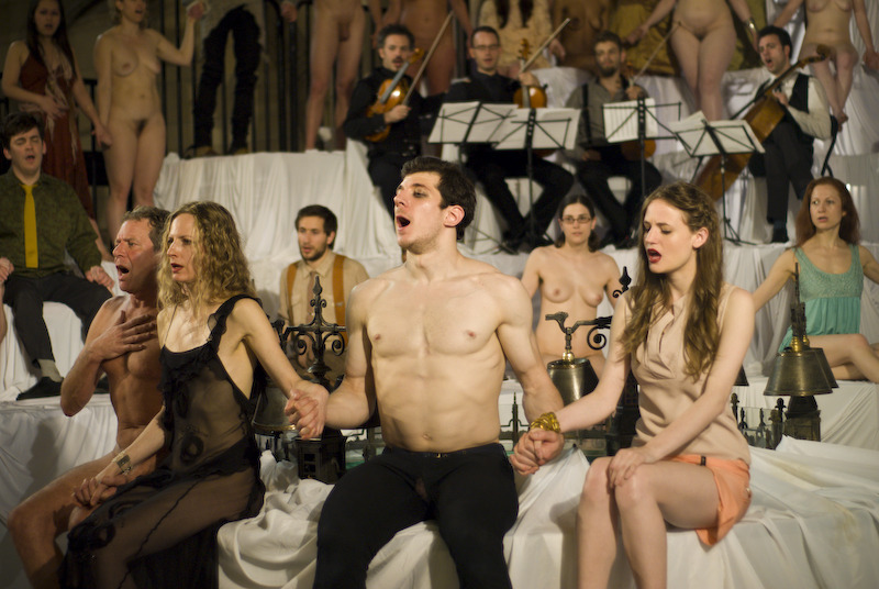 Nude stage performance 1 tragedie - 4 6