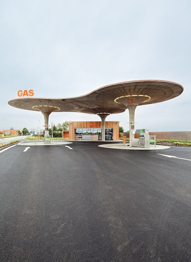 GAS atelierSAD 03 GAS Station by Atelier SAD in THISISPAPER MAGAZINE