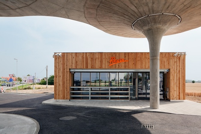 GAS atelierSAD 04 GAS Station by Atelier SAD in THISISPAPER MAGAZINE