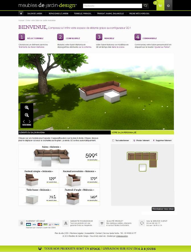 Meubles de jardin design girographe - Meubles de jardin ...