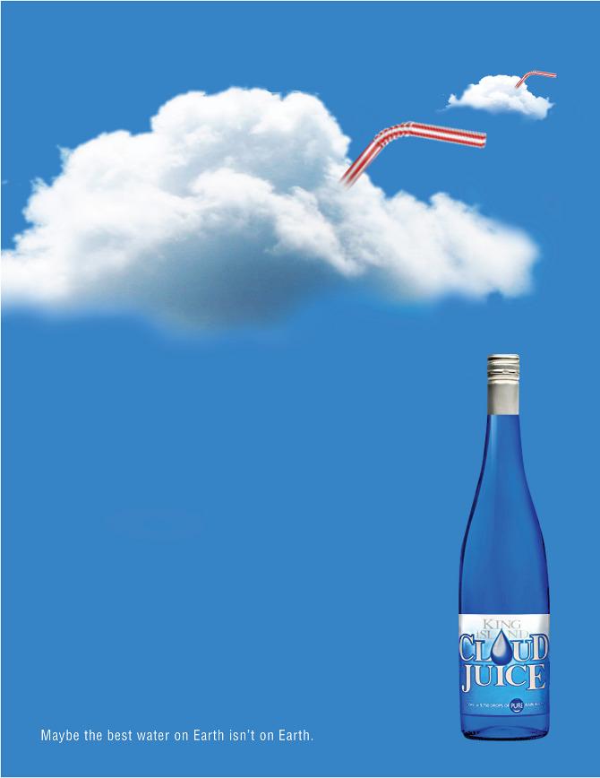 Cloud Juice Print Ad Series Matt Borowski