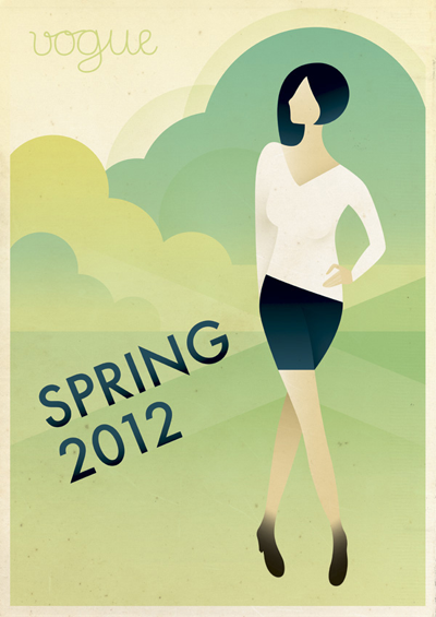 art deco fashion posters