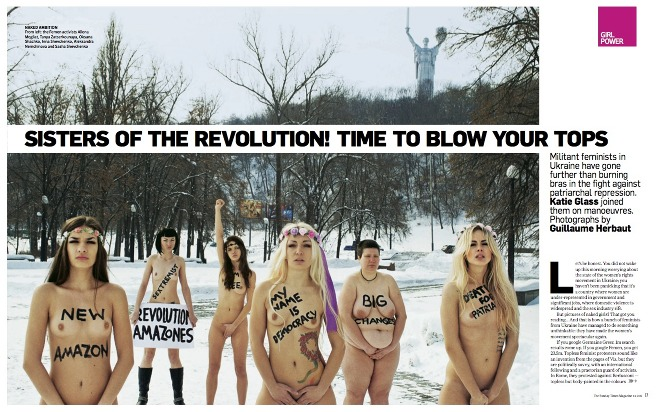 Администрация социальной сети Facebook 23 июня заблокировала основную страницу FEMEN, а днем ранее - страницу...