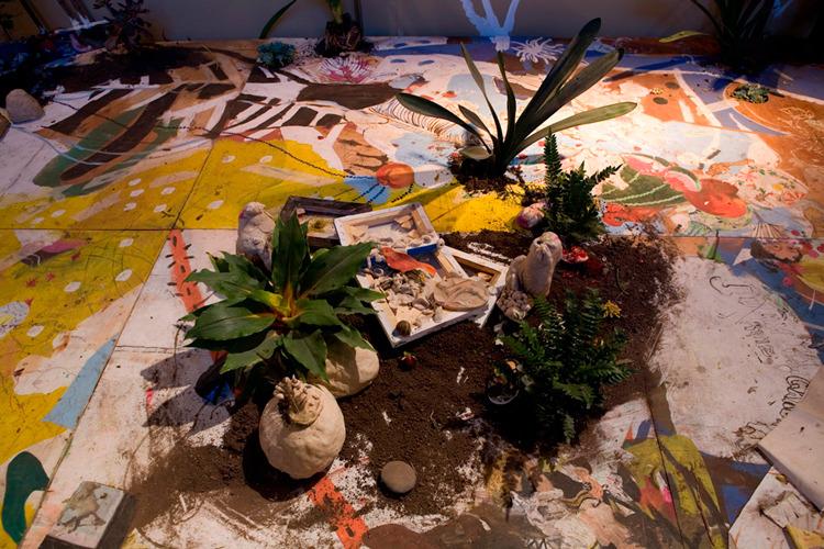 Patio o pintura para piso y plantas catalinaleon for Plantas para patios