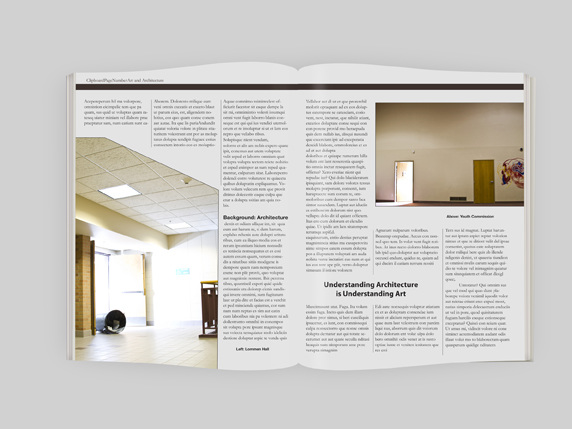 I Worked On Layout And Design Of Overall Magazine Including Masthead Creation Article